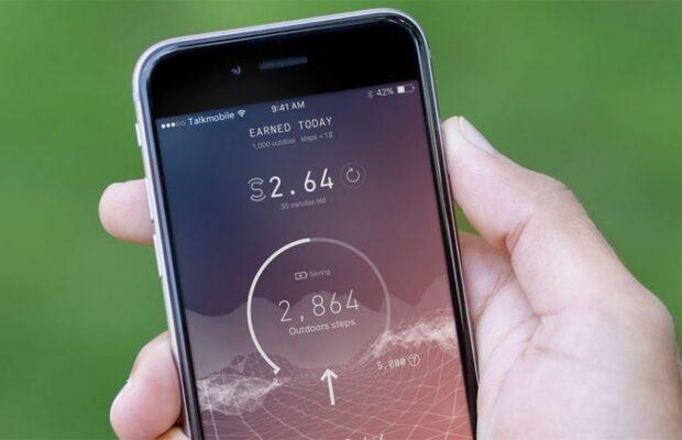 ''Sweatcoin'' Yürürken para kazandıran uygulama